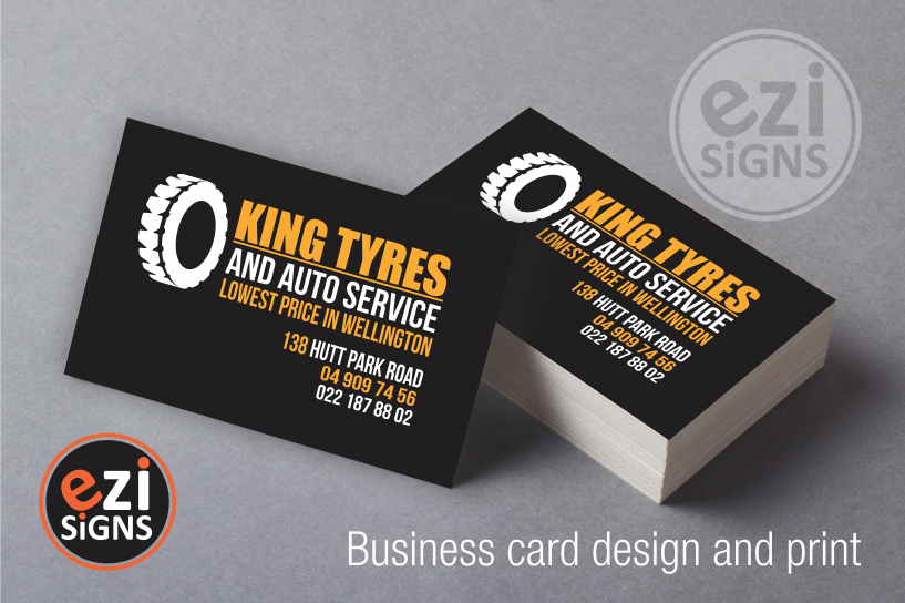 Business card printing we have designed the logo and business cards for these customers colourmoves